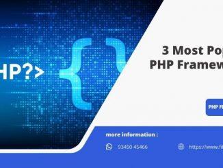 3 Most Popular PHP Frameworks